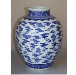 A Blue And White Porcelain Vase - 12 Ko