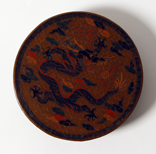 A Tianqi-Decorated Lacquer Circular Box And Cover - 47 Ko