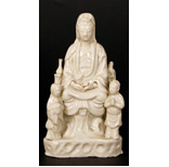 A Blanc De Chine Model Of Guanyin - 27 Ko